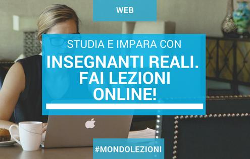 Imparare con le lezioni online